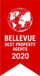 immoorga Gütesiegel: Bellevue Best Property Agents 2020 (Beste Immobilienmakler seit 2015)