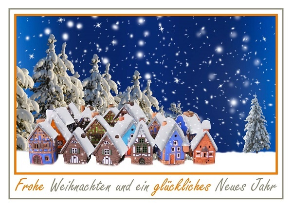 immoorga News: Weihnachtsgrüße und Neujahrsglückwünsche 2020